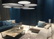 Living room sofas in blue are a popular choice in homes across the globe