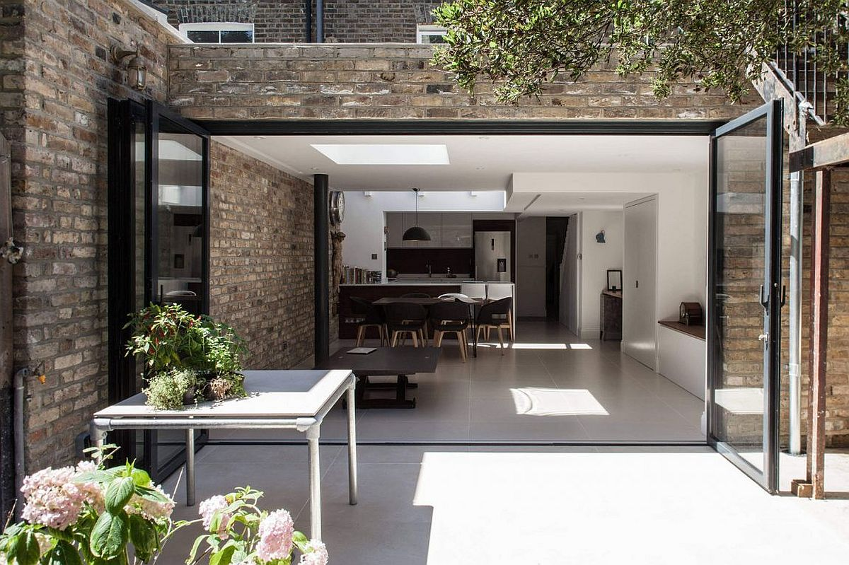 Modern extension of a beautiful London home with revamped family space
