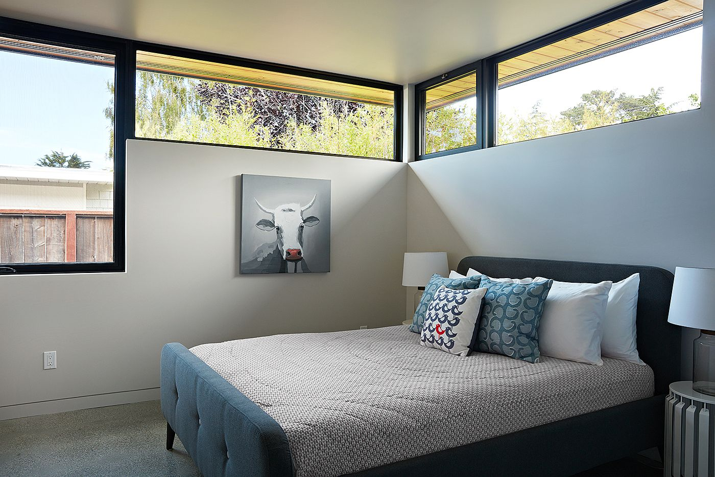 Nifty use of windows brings in ample natural light