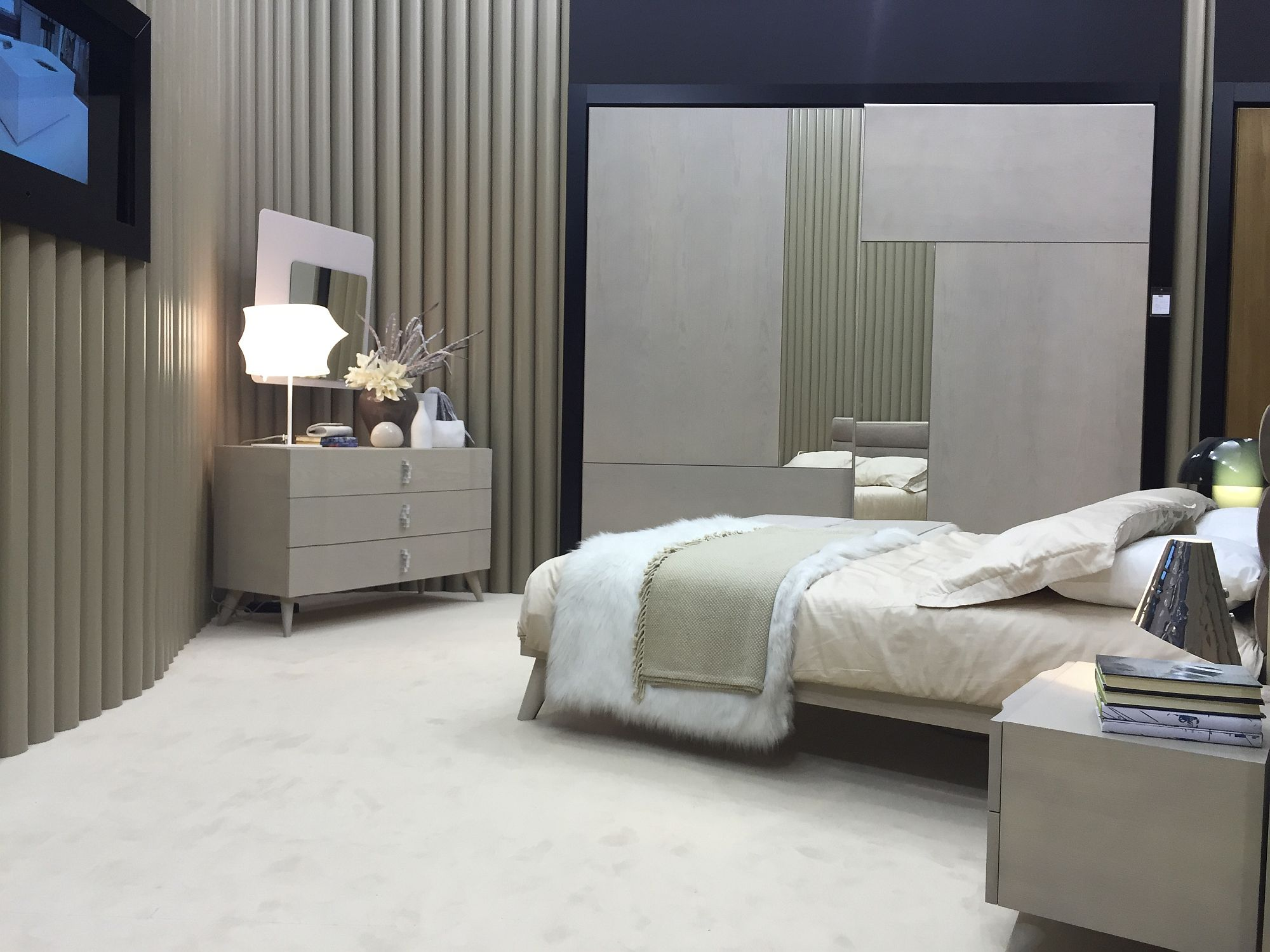 ... Nighstand makes use of unique corner space in the bedroom & 16 Innovative Bedroom Storage and Walk-in Closet Ideas