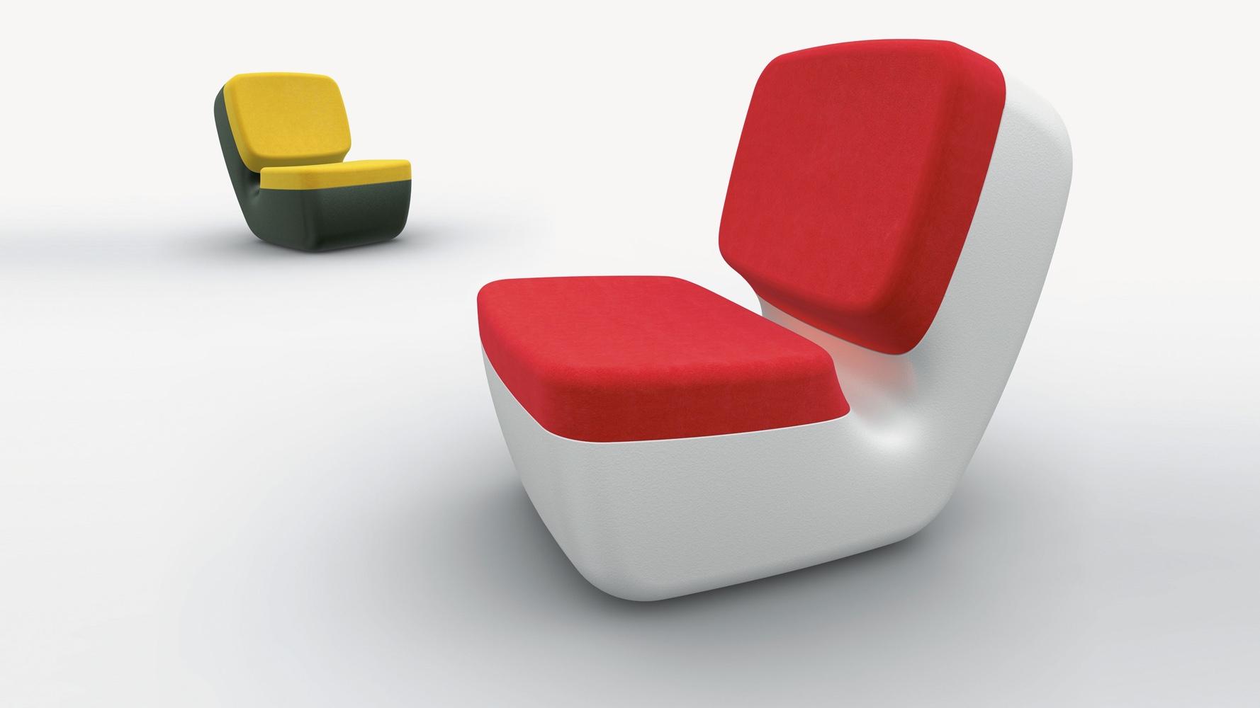Nimrod chair. Image© 2016 Marc Newson Ltd.