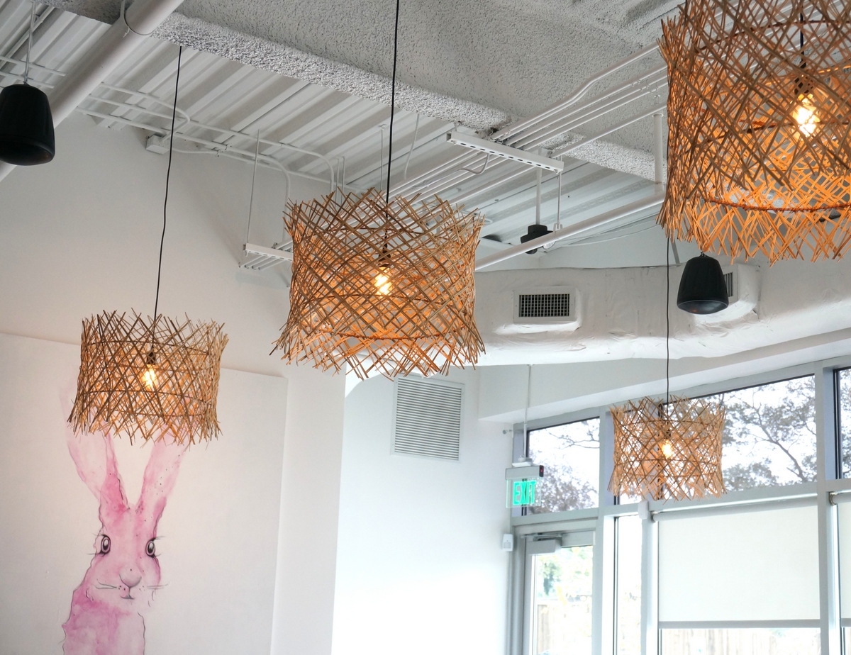 Pendant shades at Citizen Eatery