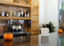 Persimmons line the bar at Citizen Eatery