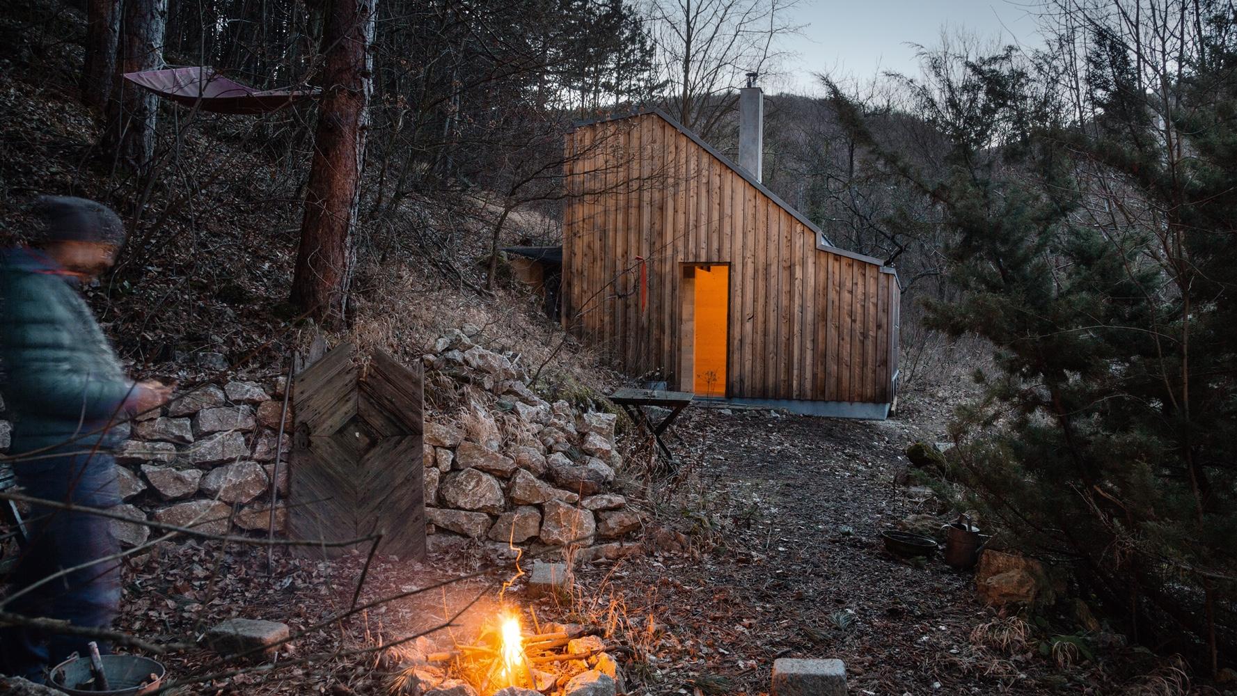 Tom's Hütte.