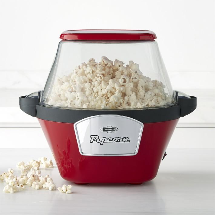 Retro-style popcorn maker