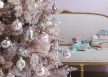 Shabby Chic Couture's Pink Tinsel Christmas Tree