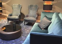 Shades of blue add serenity to a room