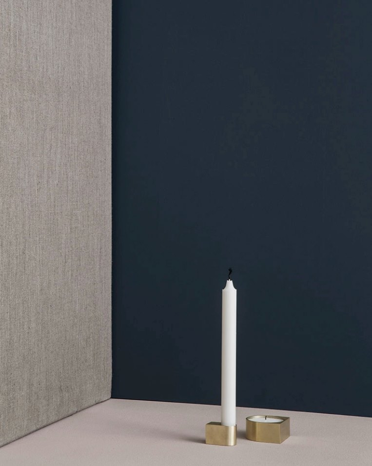 Sleek candle holder from ferm LIVING