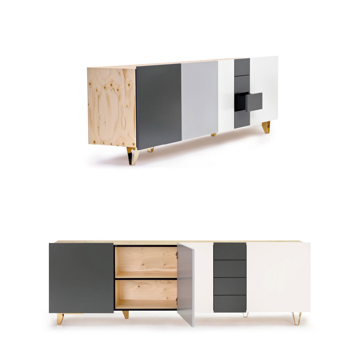 Supergrau® Starbuck Sideboard. Image courtesy of Supergrau®.