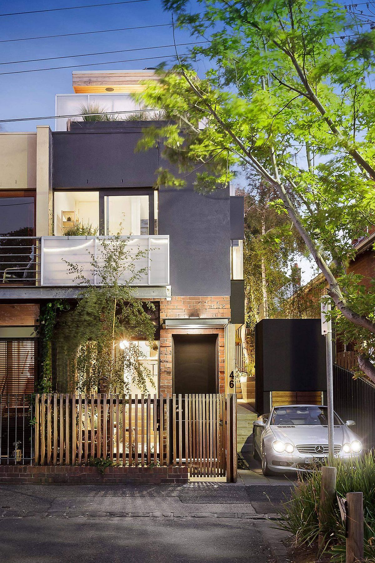 Street view of the Windsor Residence in Australia