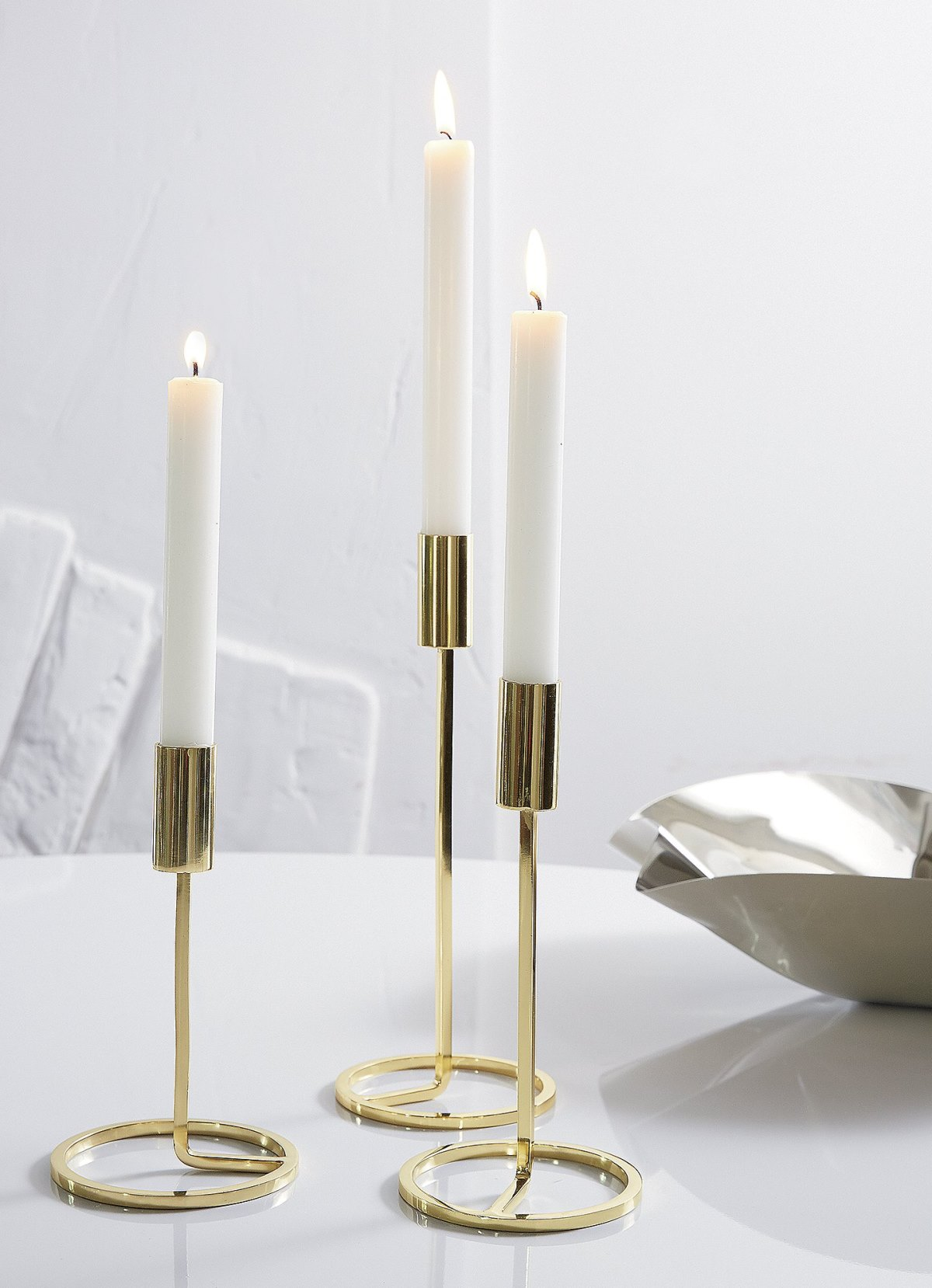 Taper candle holders from CB2