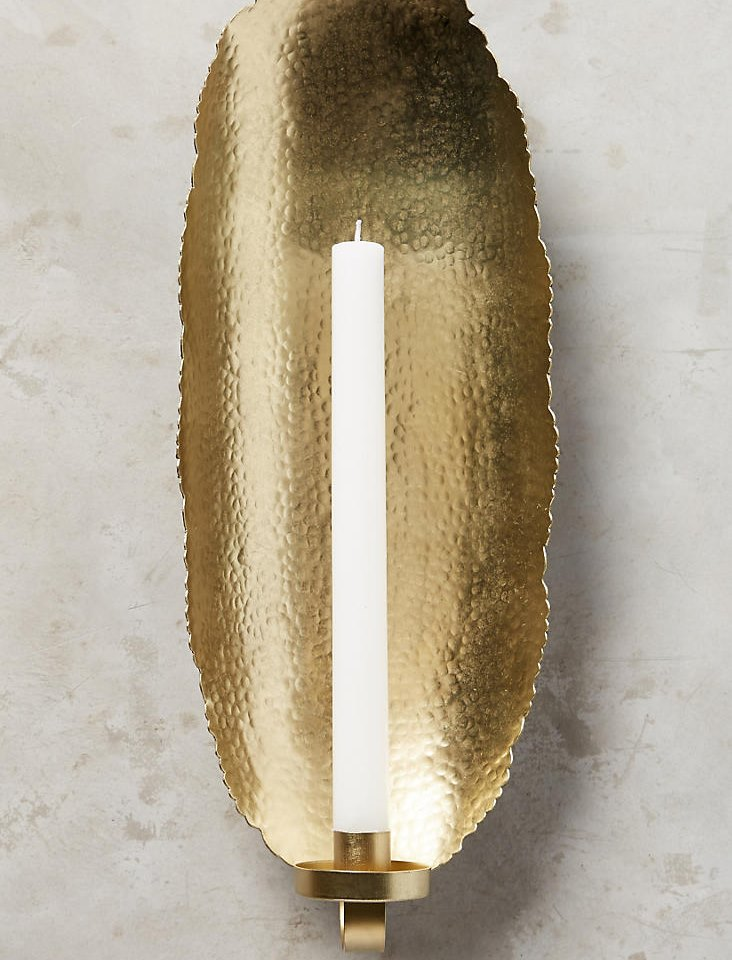 Taper candle sconce from Anthropologie