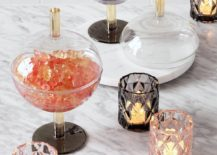 Tea light candle holders from CB2