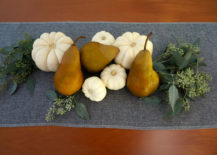Thanksgiving centerpiece with seeded eucalyptus 217x155 A Bountiful Centerpiece for Your Thanksgiving Table