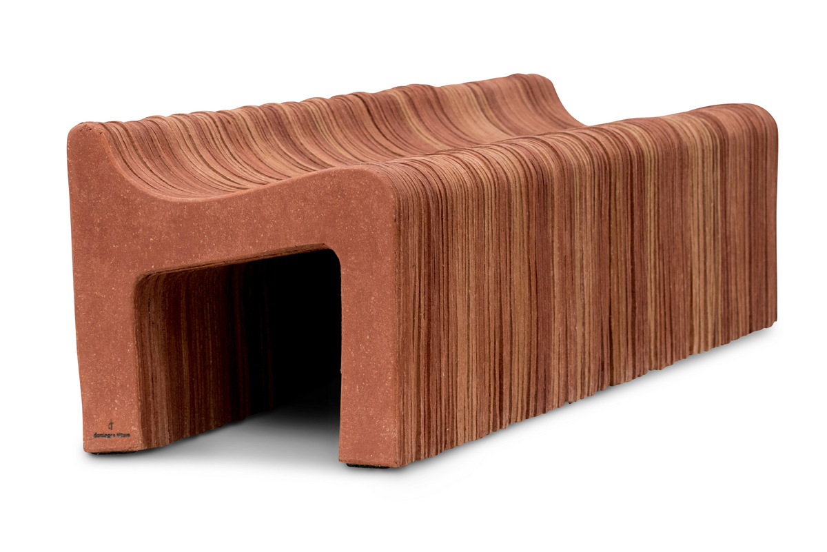 The Kraft bench by Domingos Totora