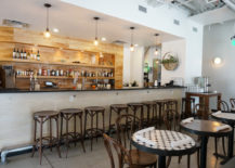 The bar at Citizen Eatery