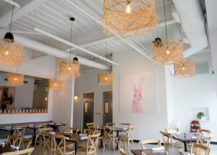 The main dining area of Citizen Eatery in Austin, Texas