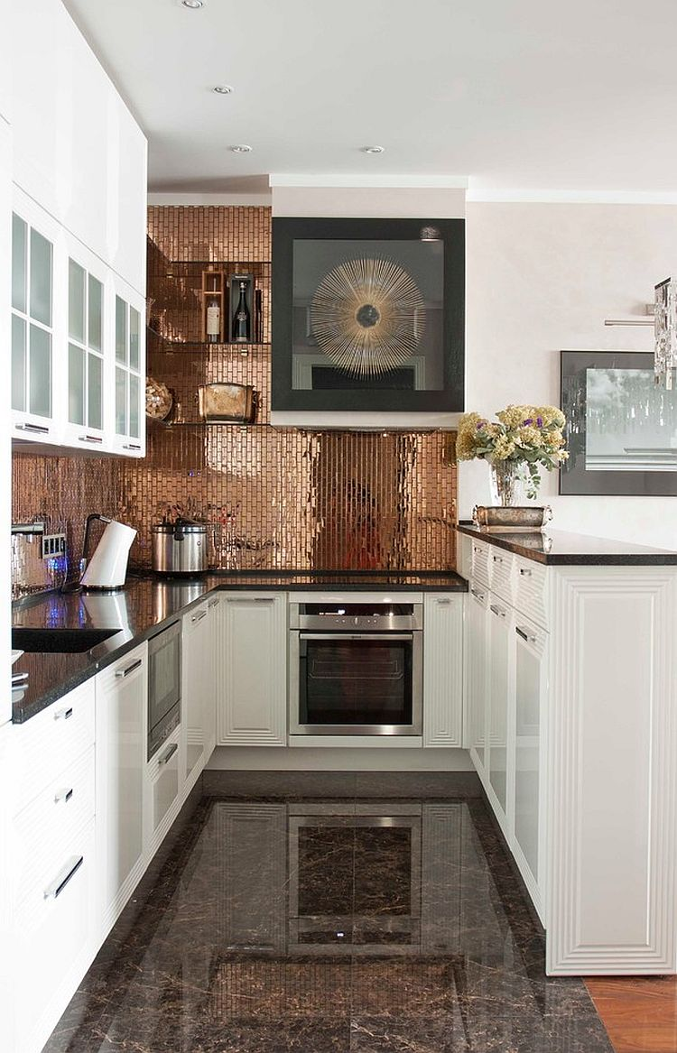 copper backsplash kitchen design ideas – quicua