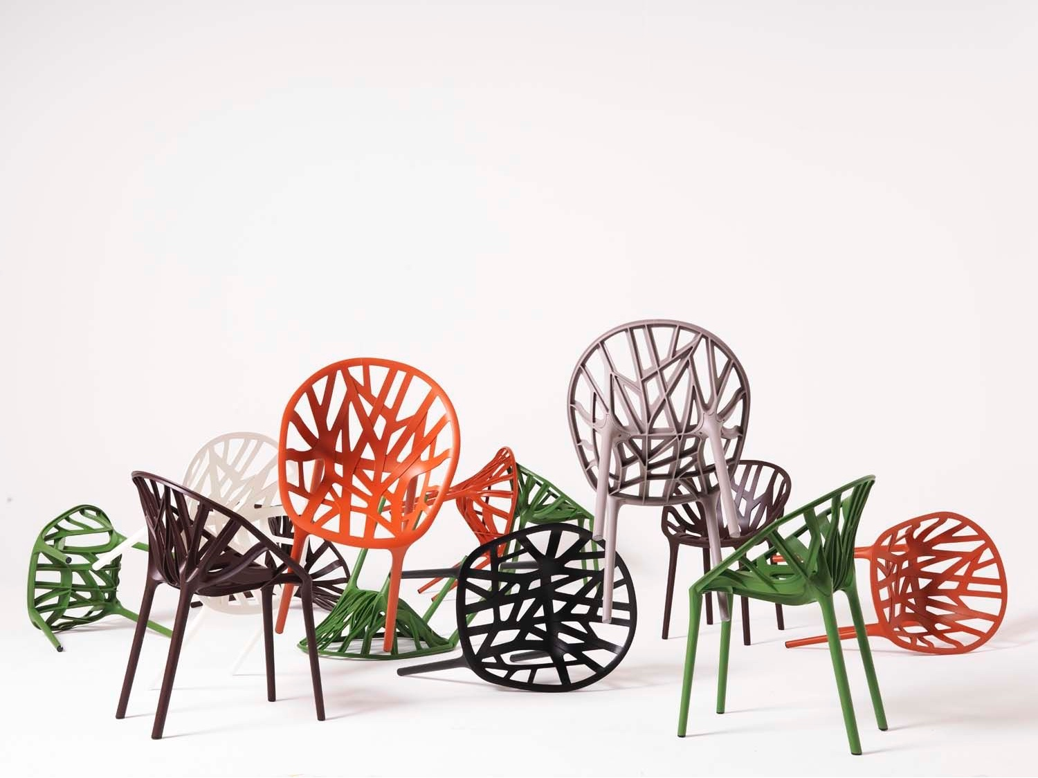 Vegetal chair colours.