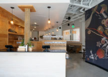View from the front foyer at Citizen Eatery 217x155 Citizen Eatery Celebrates Plant Based Dining and Modern Design
