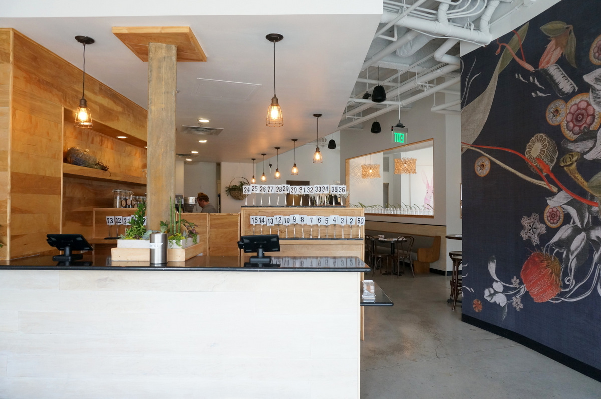 View from the front foyer at Citizen Eatery