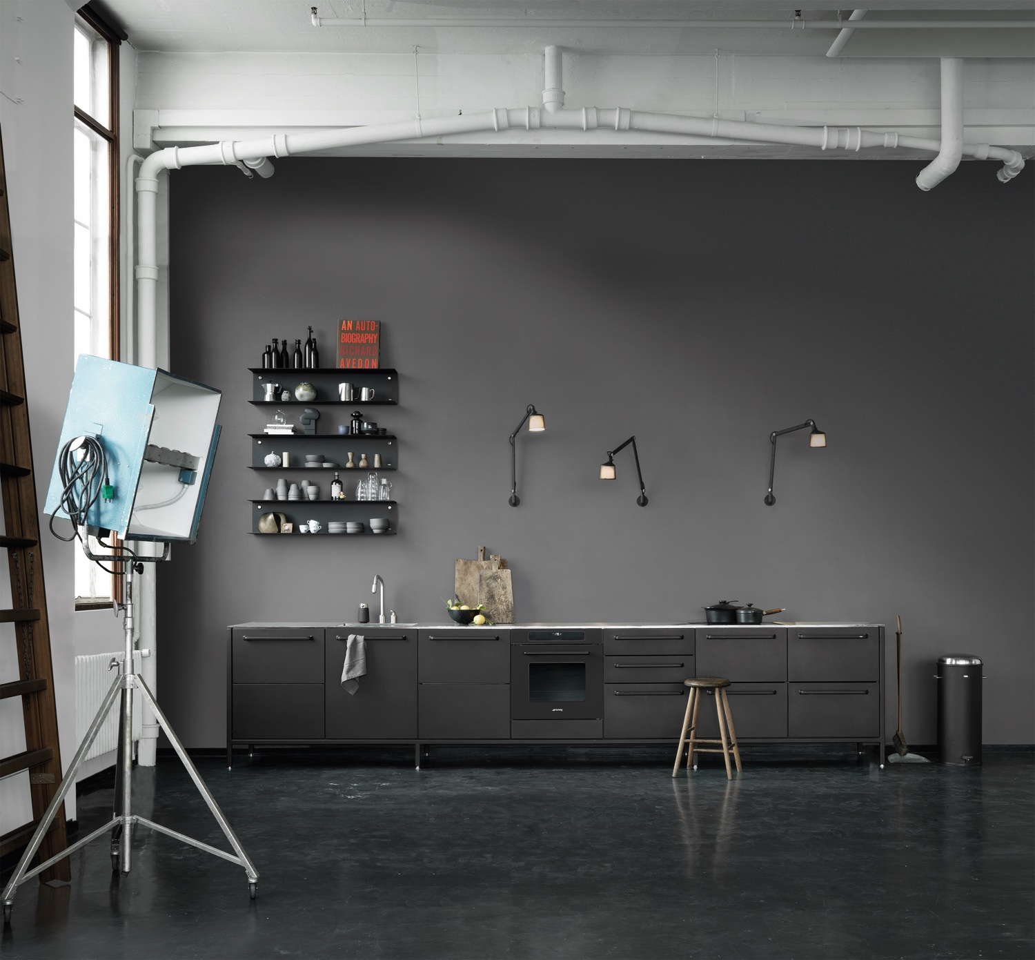Vipp kitchen inspiration in Copenhagen. Image © Vipp.