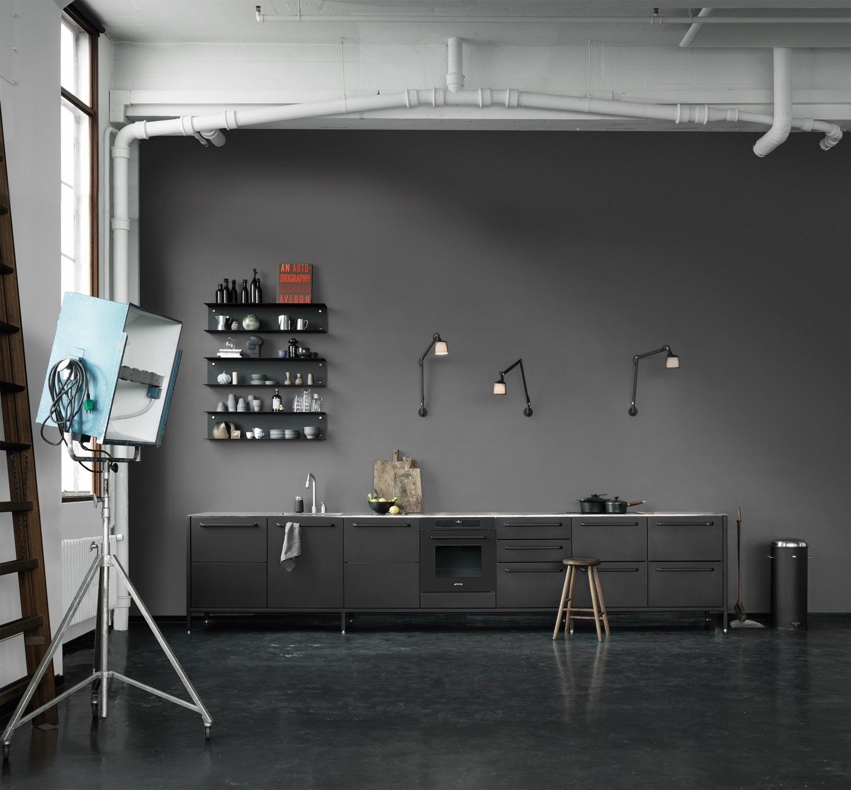 Vipp kitchen inspiration in Copenhagen. Image© Vipp.