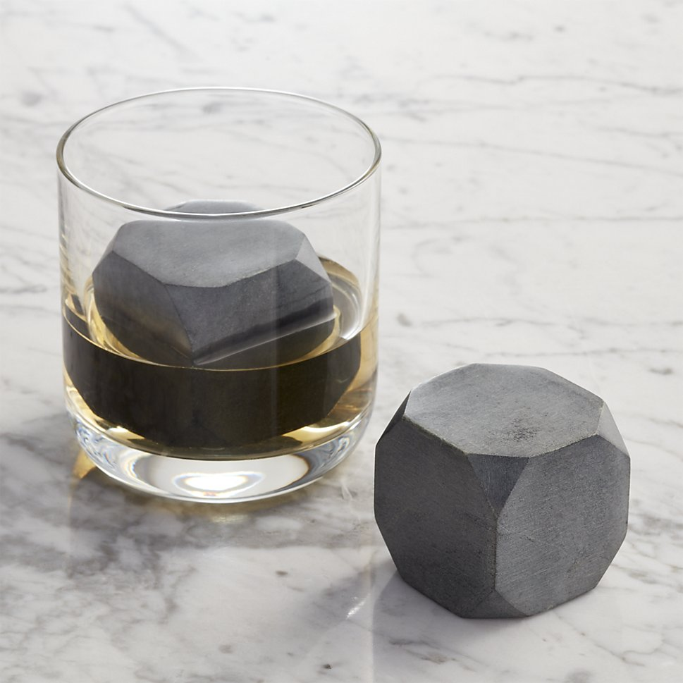 Whiskey rocks from Crate & Barrel
