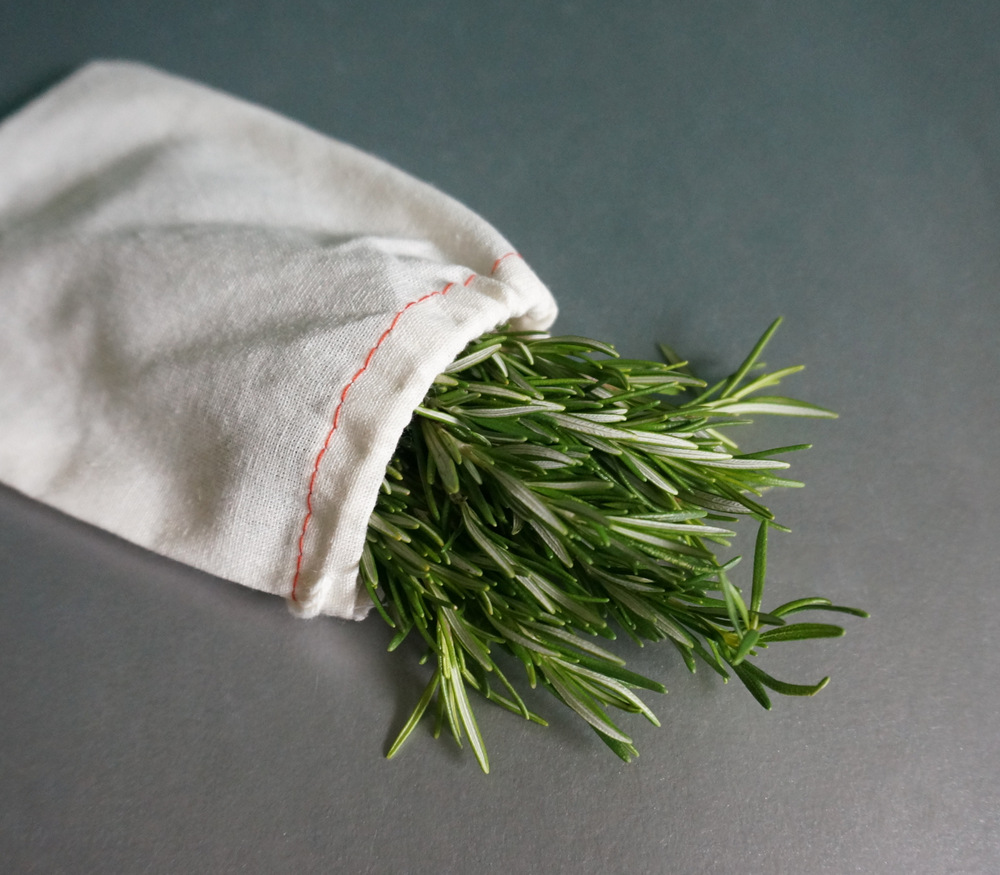 A rosemary bouquet makes a lovely gift