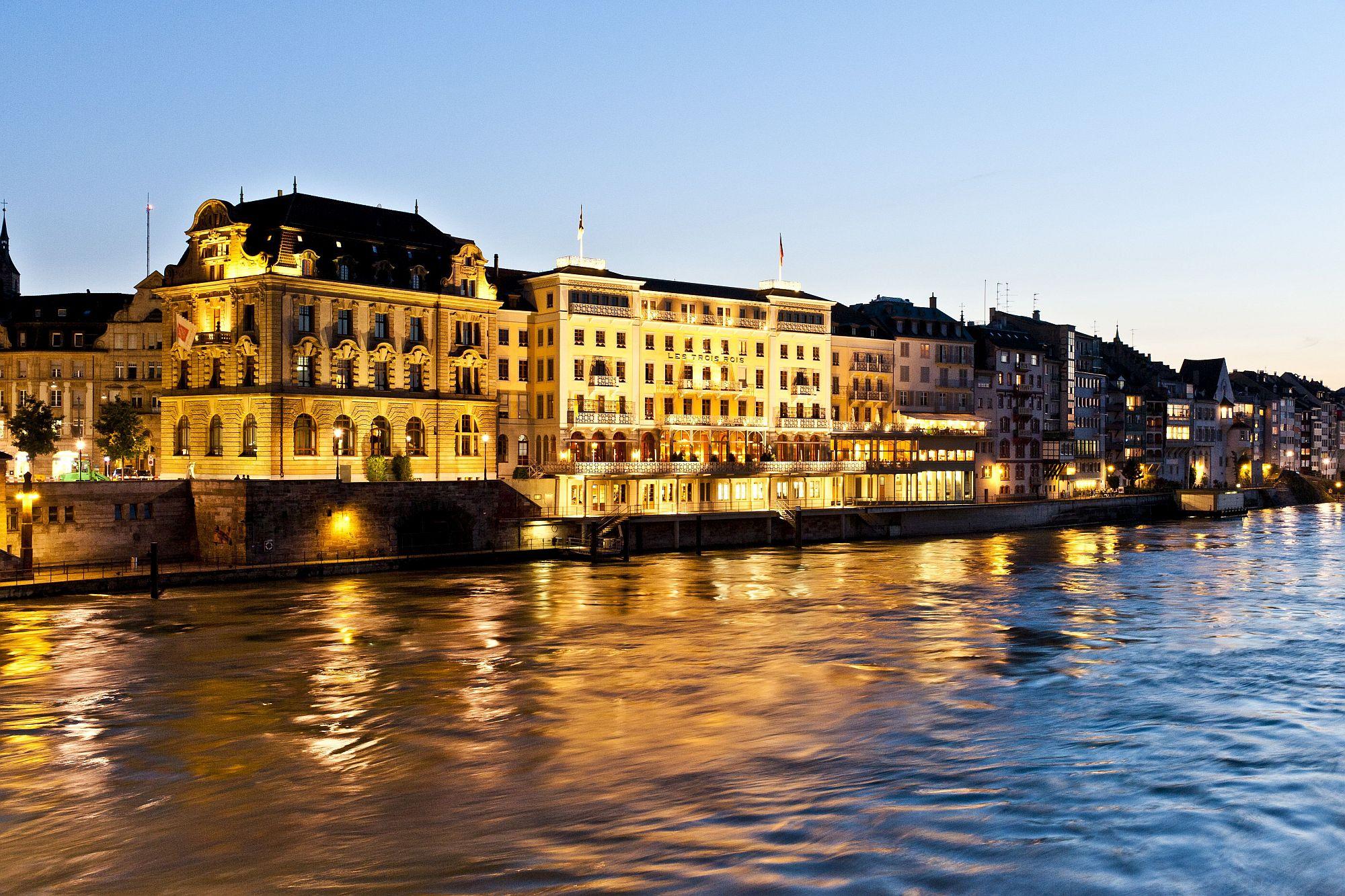 Amazing Swiss luxury hotel in Basel
