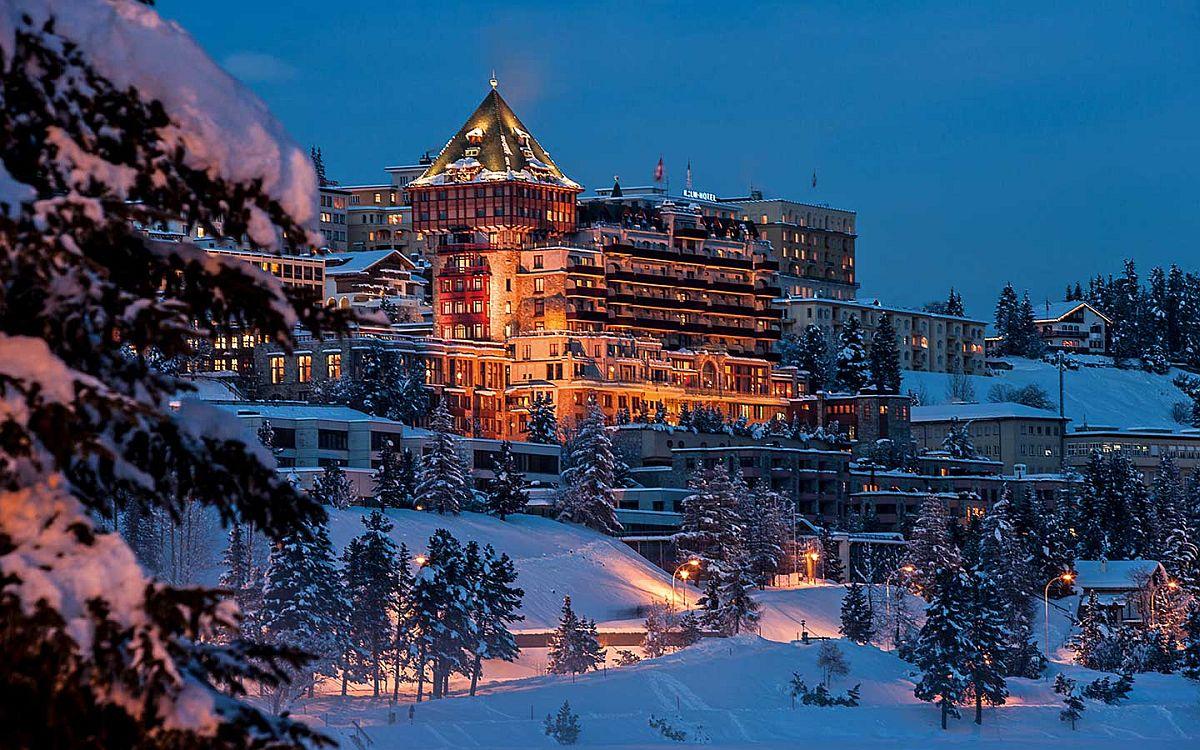 Badrutts Palace Hotel, St. Moritz