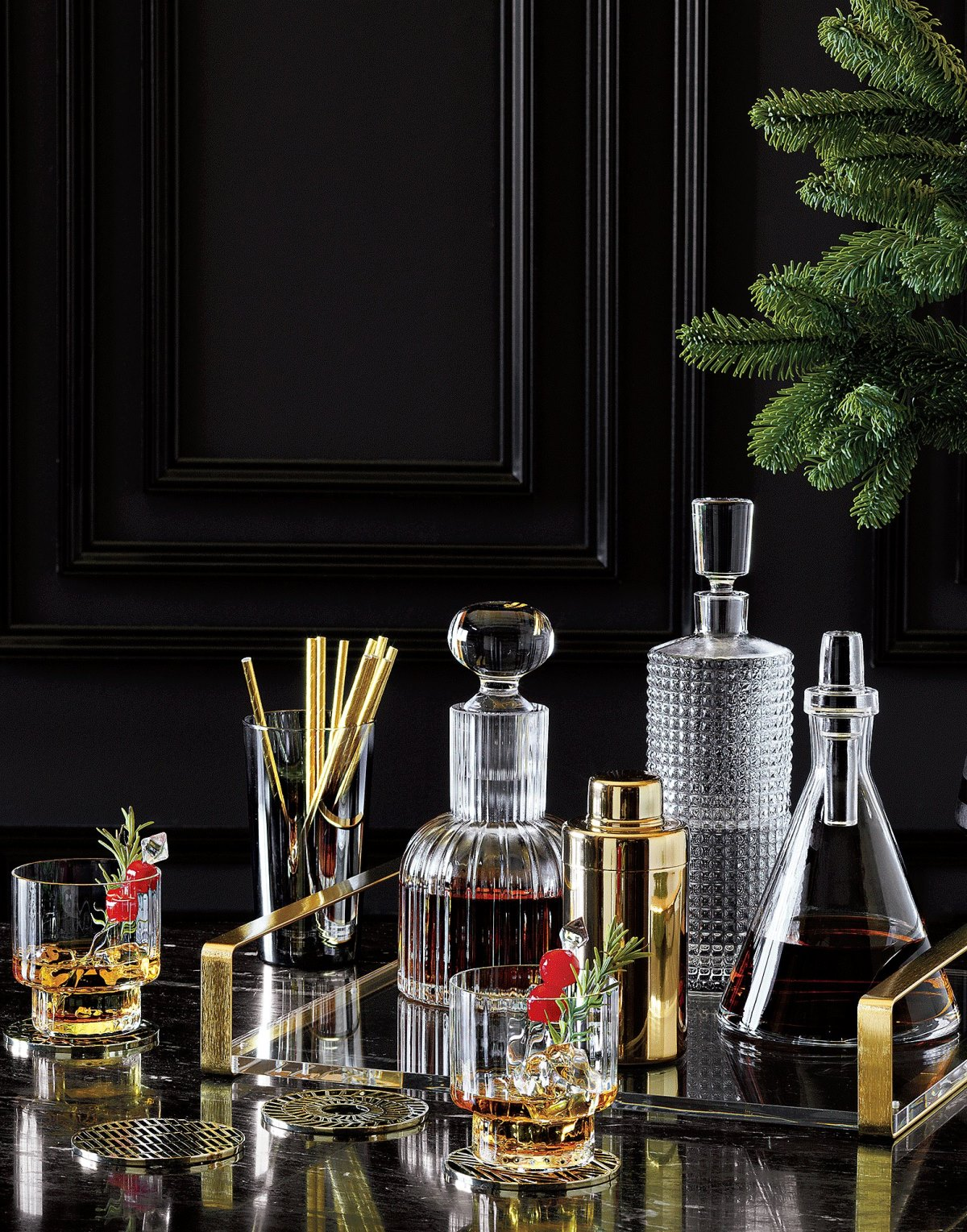Barware styling from CB2