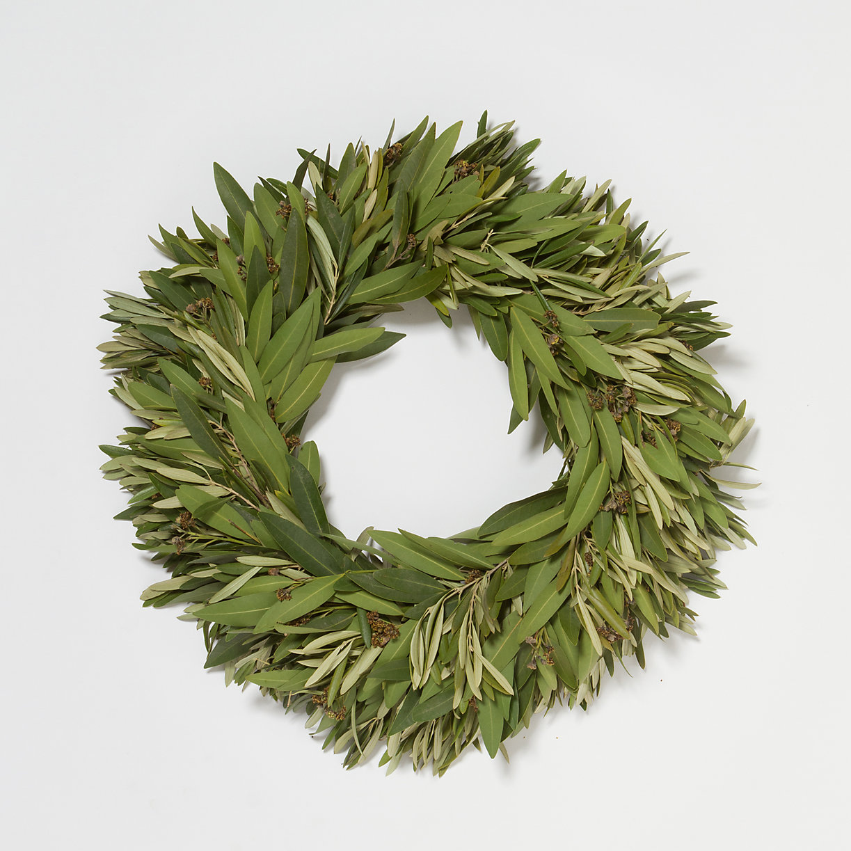 Bay and olive wreath from Terrain