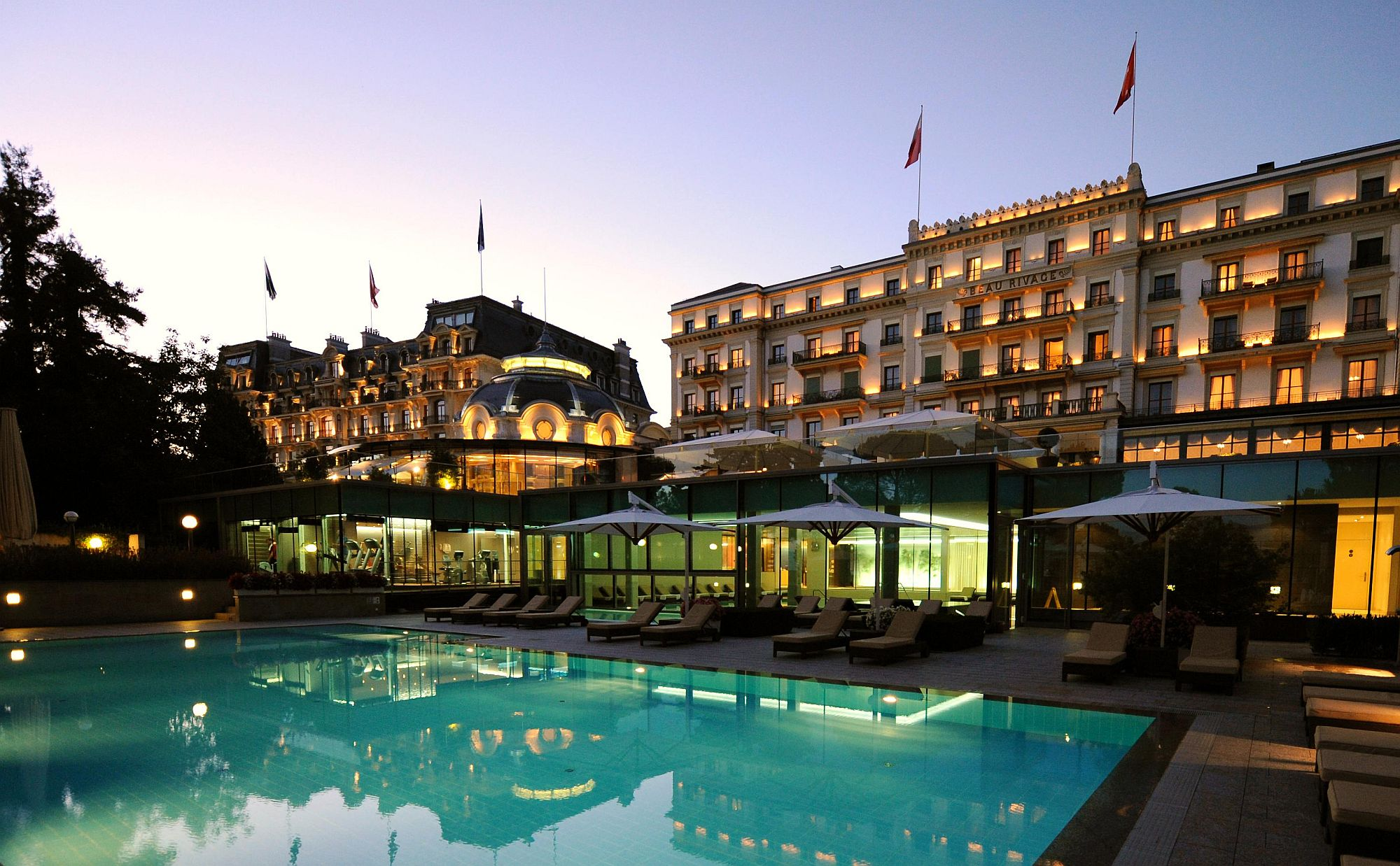 Beautiful and luxurious Swiss Hotel in Lausanne