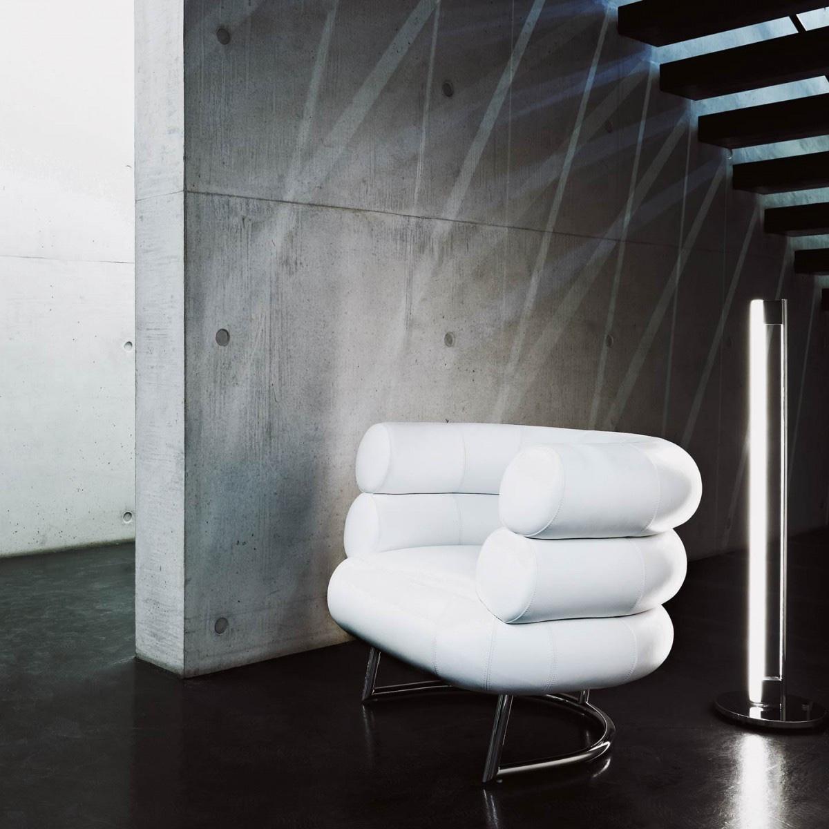Eileen Gray's Bibendum Chair. Image© Aram.