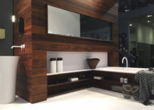 Black-and-white-meet-brown-in-this-modern-bathroom-217x155