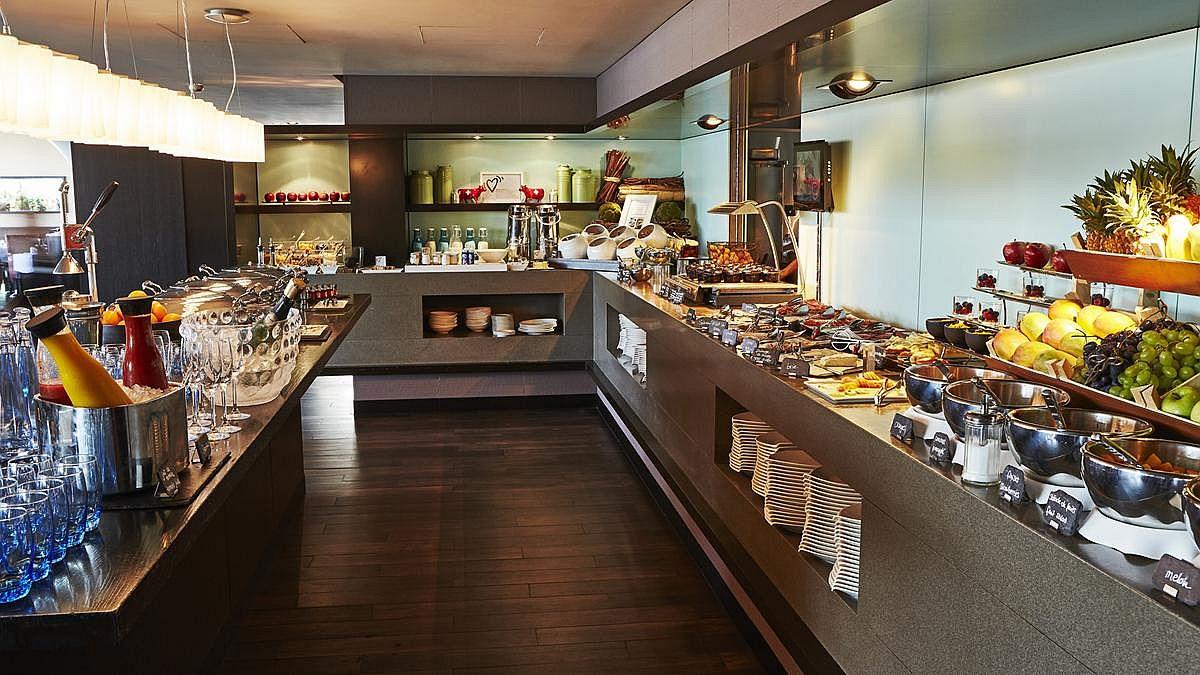 Breakfast Buffet at the Grand Hotel Kempinski Geneva
