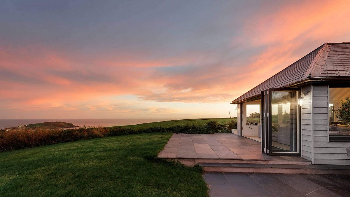 Breathtaking view from the South Hams Coastal Home