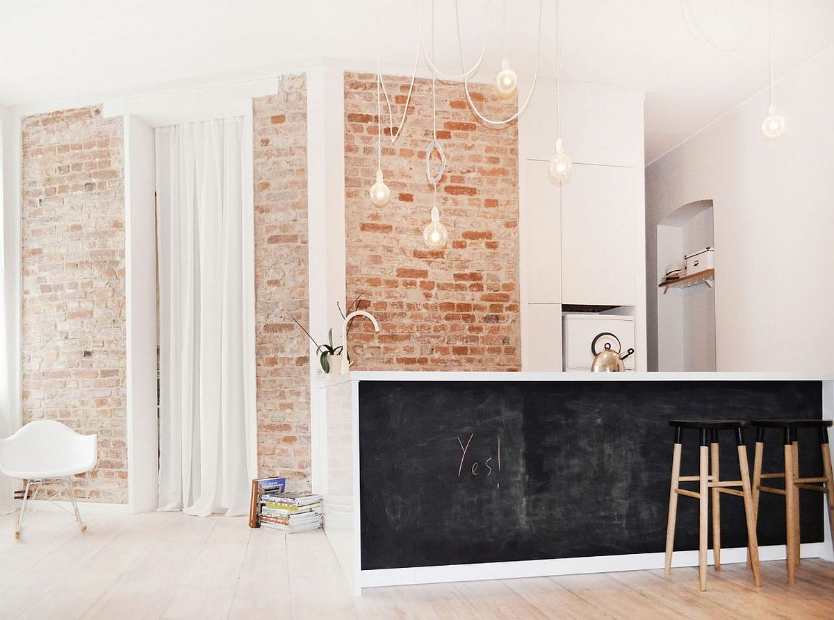 Chalkboard paint for the kitchen island