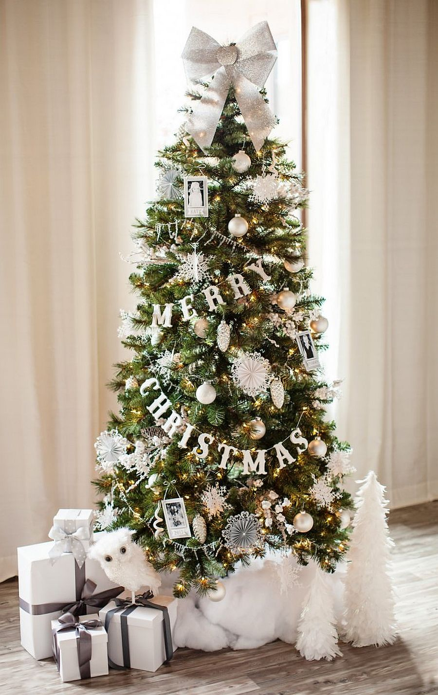 Chic and beautiful Christmas tree garland [From: the TomKat studio]