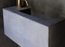 Concrete-sink-for-the-contemporary-sunken-bath-217x155
