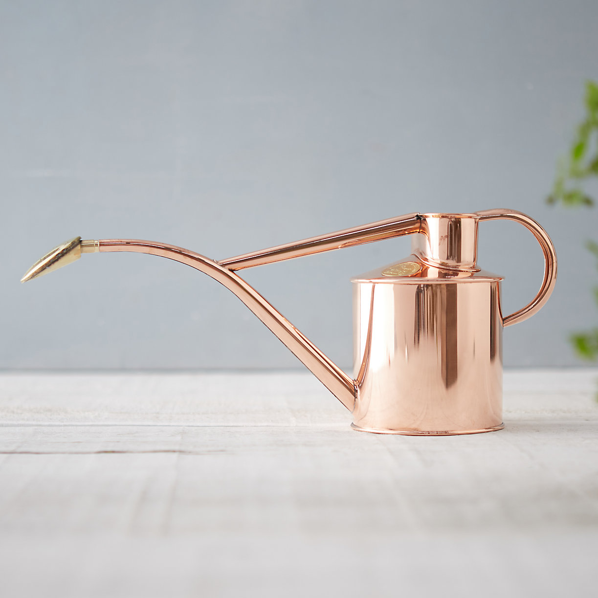 Copper watering can from Terrain