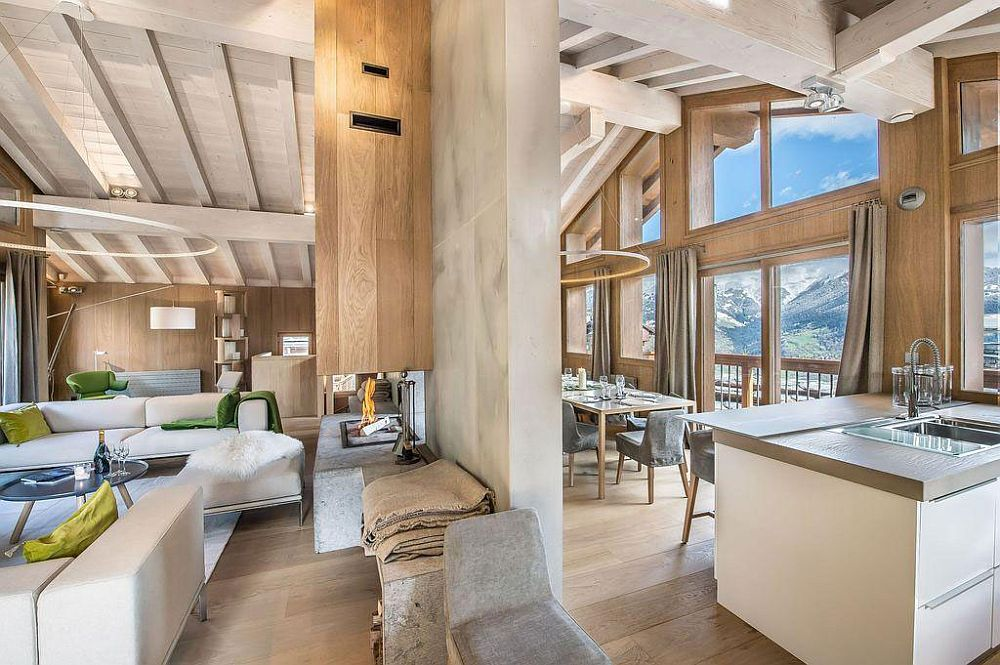 Cozy modern chalet in the mountains of France Snow Clad Slopes and Alpine Magic: Modern and Cozy Chalet in France