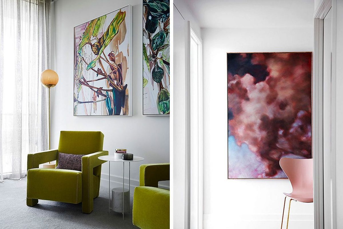 Custom decor brings color and character to the home
