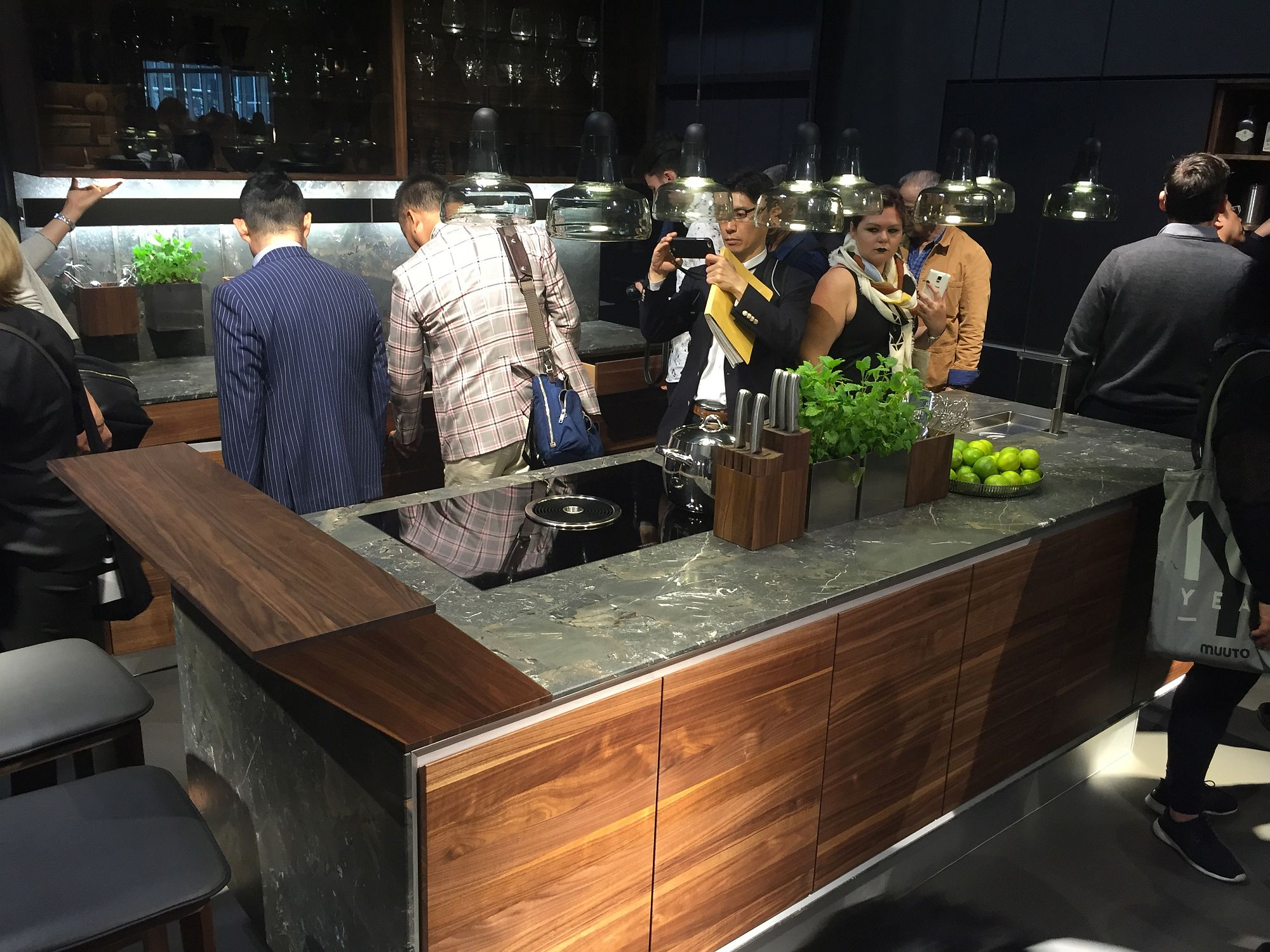 Cutting edge kitchen island on display at Salone del Mobile 2016