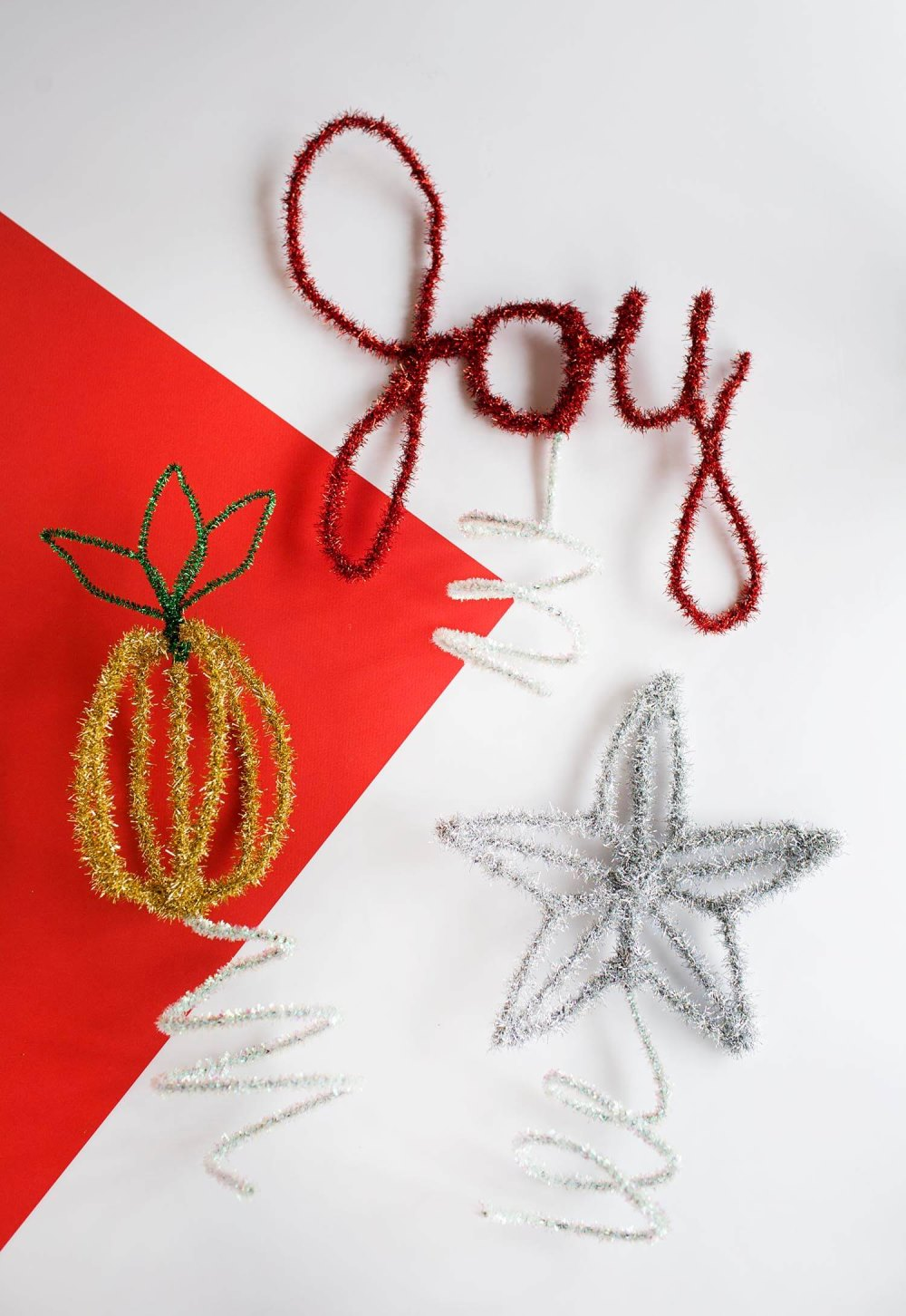 DIY Christmas tree toppers from A Beautiful Mess