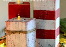 DIY-Christmassy-Peppermint-Striped-Candlesticks-217x155