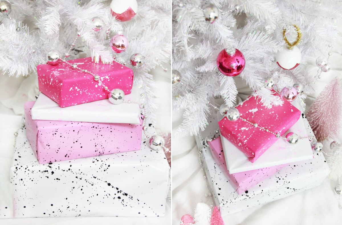 DIY gift wrap from A Bubbly Life