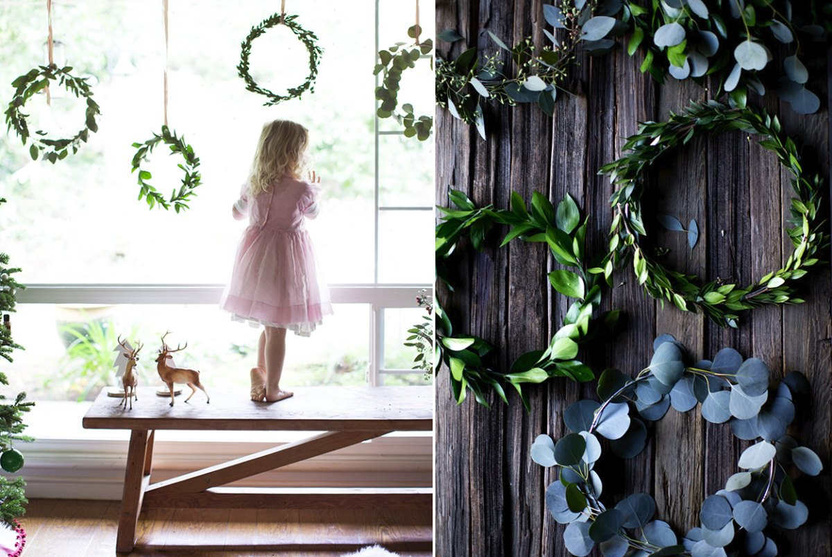 DIY mini wreaths from Say Yes