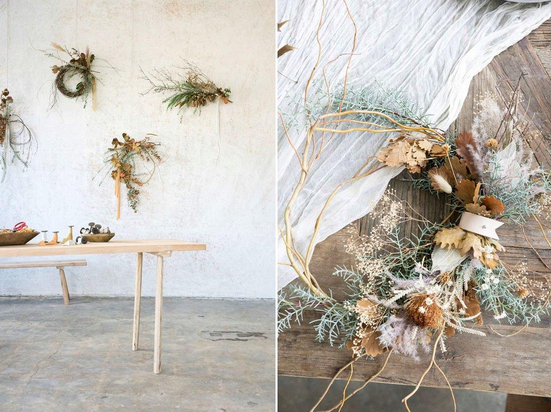 DIY wreath design from Design Love Fest